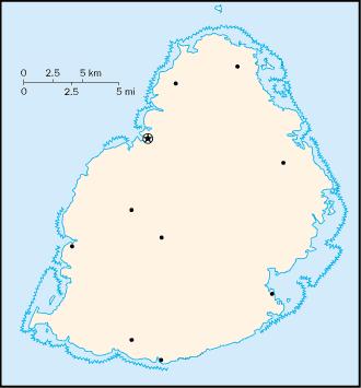 000 Mauritius Harta large map