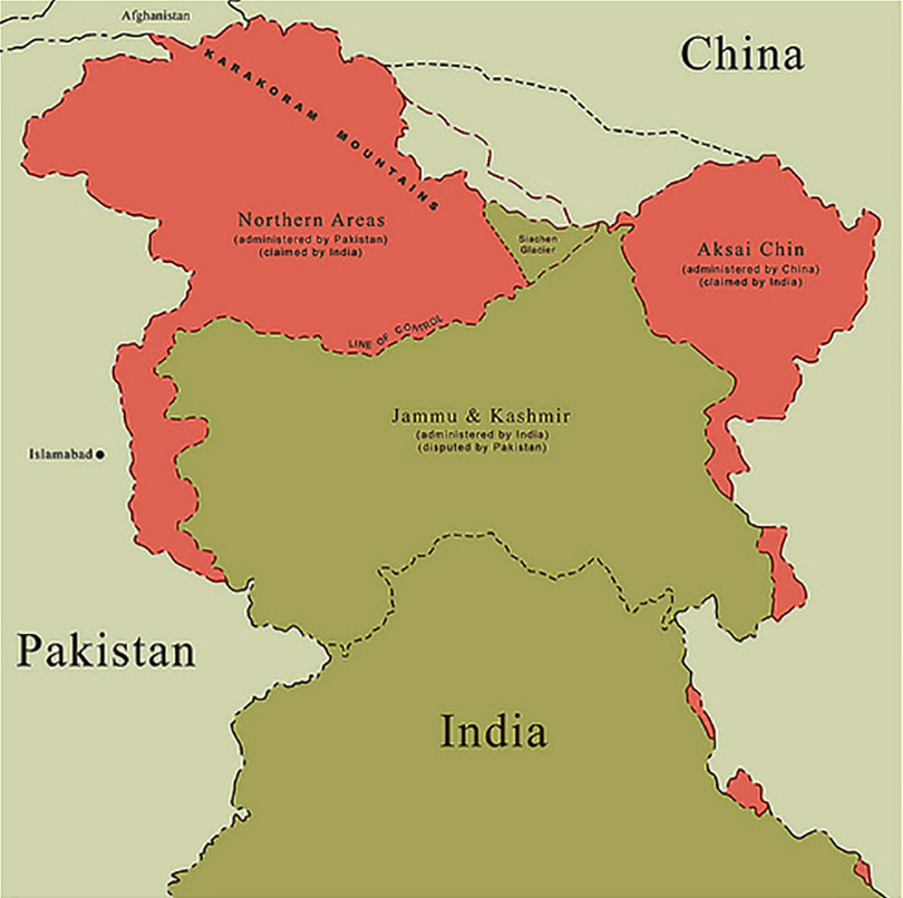 3 Kashmir large map