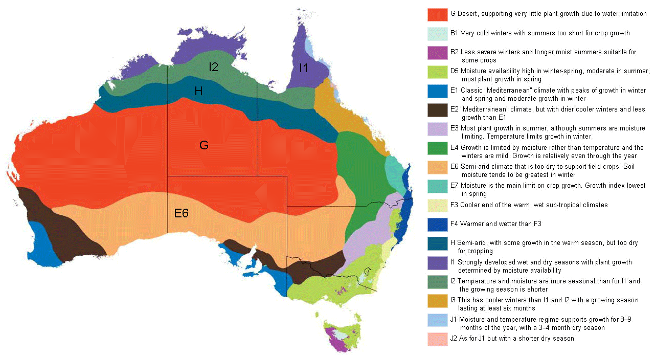 Map Of Australia And Tasmania.Australia And Tasmania Climate Map Mapsof Net