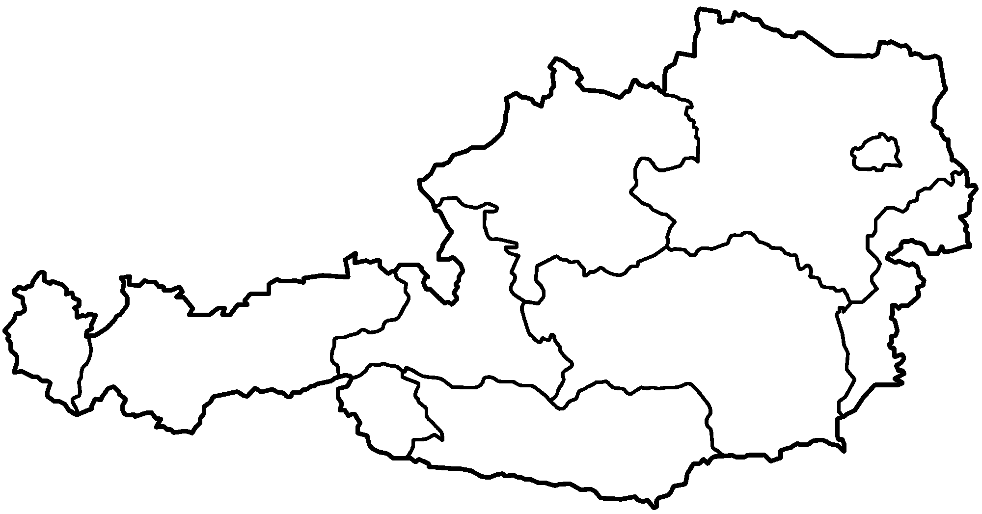Blank Map Of Germany Map East Coast Map Of East Coast Of - Outline map of germany with states
