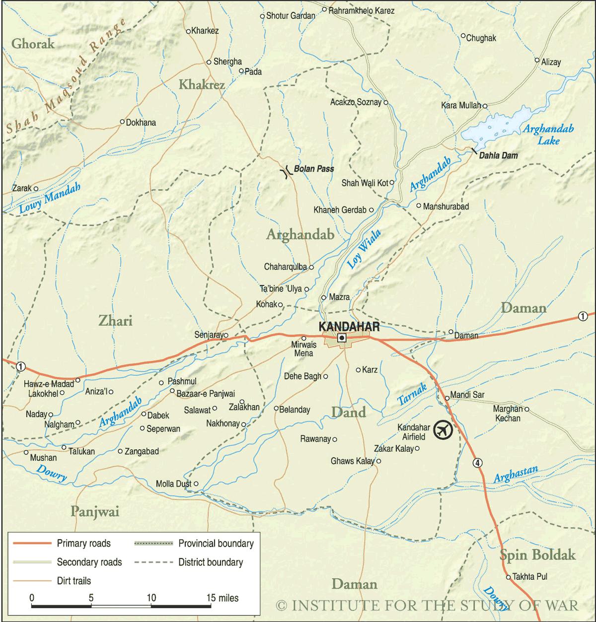 Central Kandahar Mapsofnet