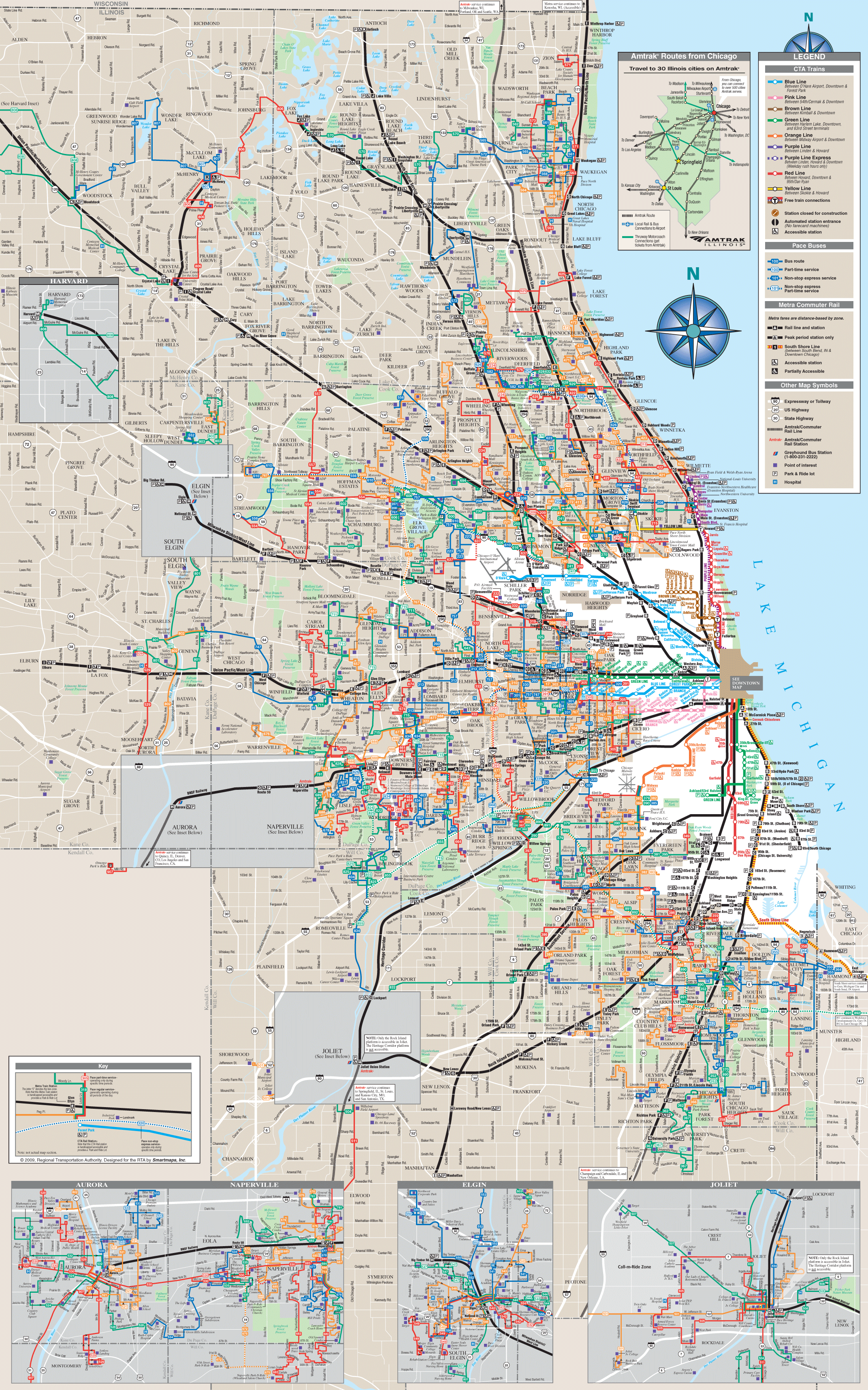 Where is Chicago Chicago Maps • Mapsof