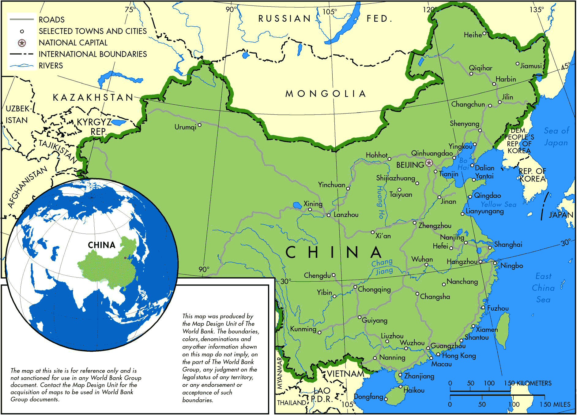 china map major cities China Major Cities Mapsof Net china map major cities