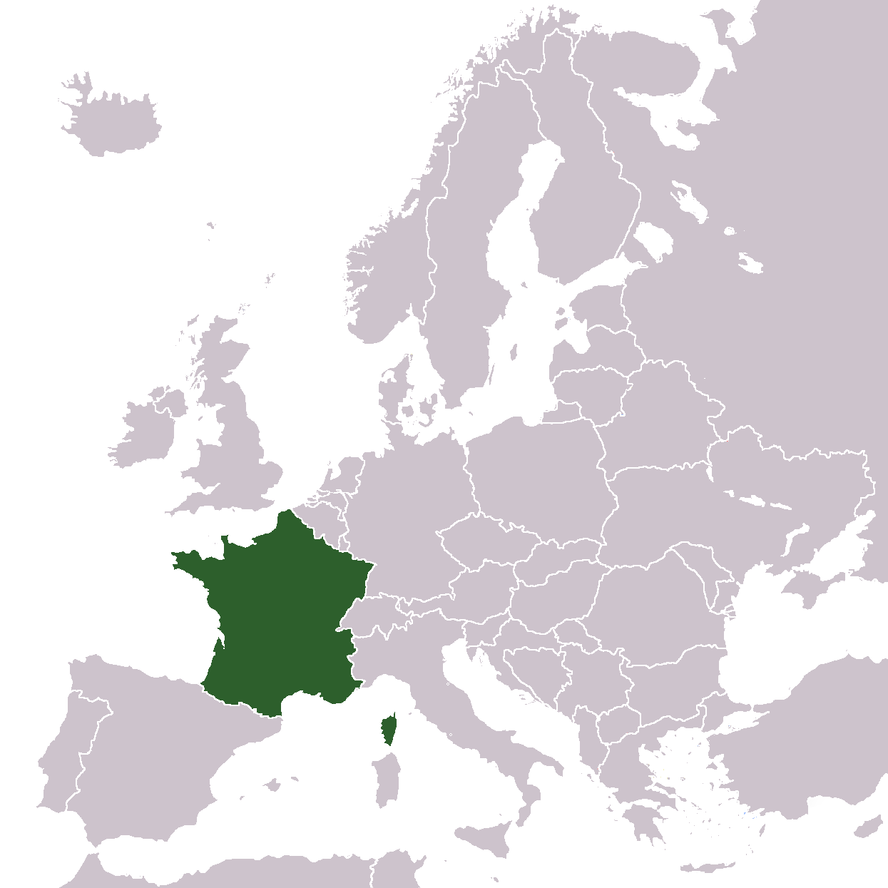 France Map Png.Europe Location France Mapsof Net