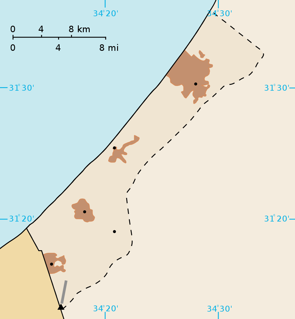 click on the gaza strip map blank . gaza strip map blank • mapsofnet