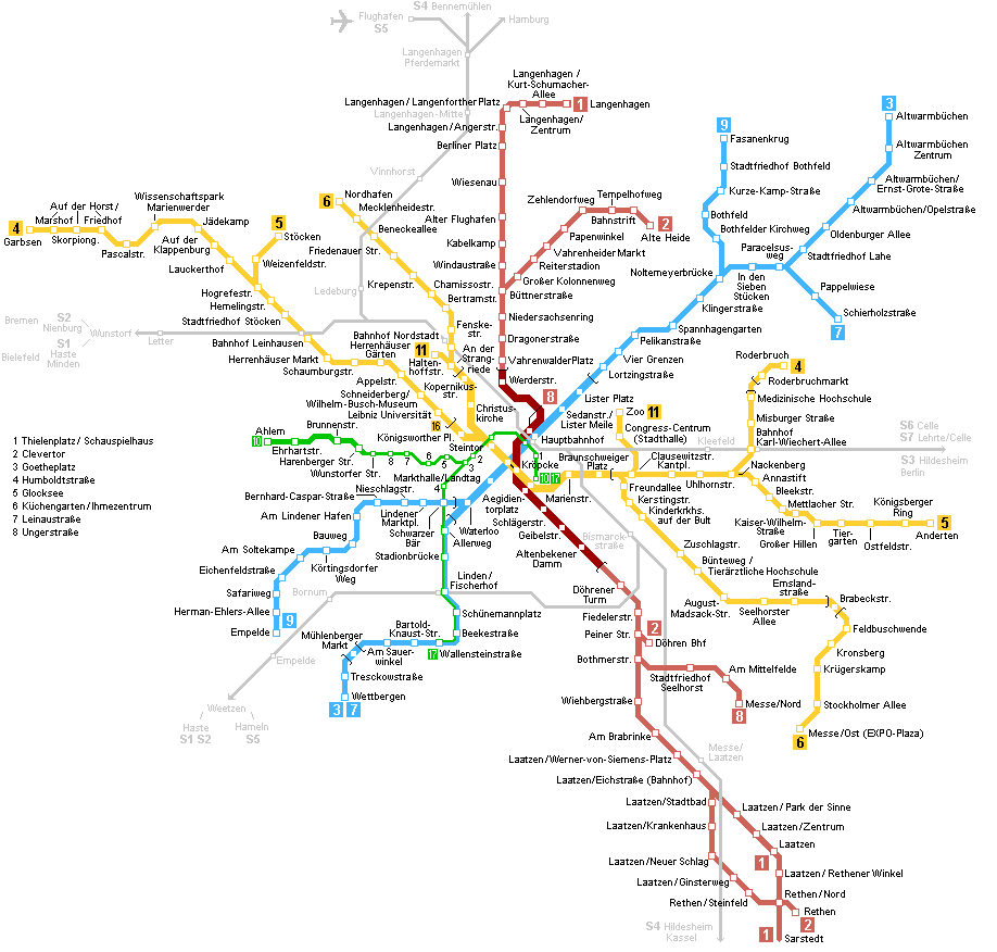Earth Physical Map Hannover Metro Map lar...