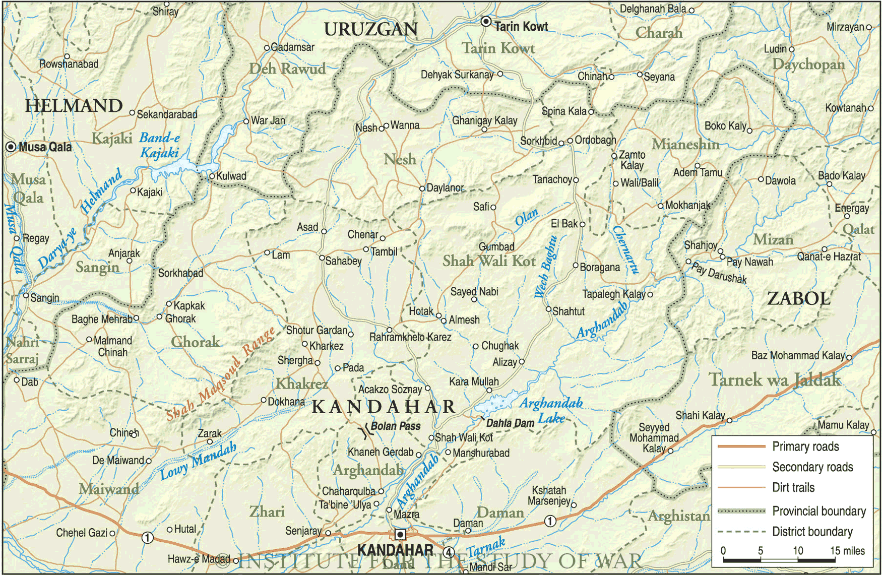 Kandahar North - Mapsof.net