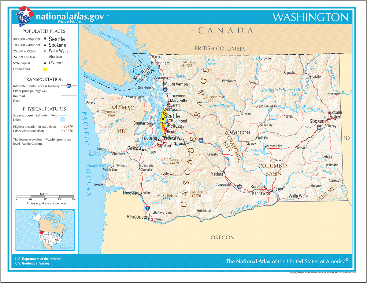 Map of Washington Na 1