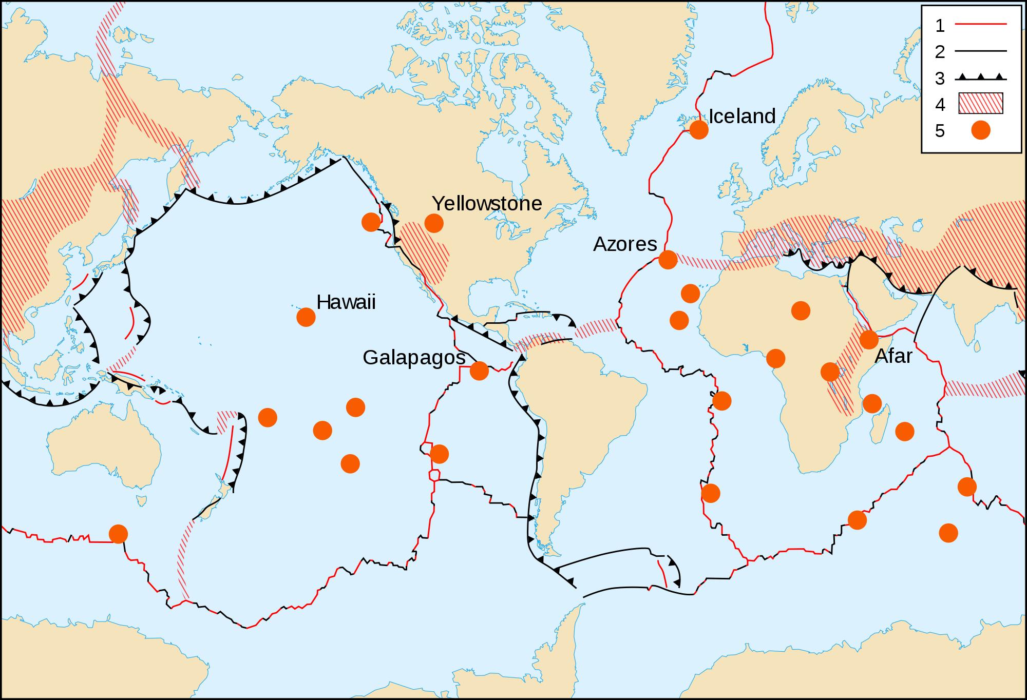 Hawaii Hot Spot Map Quotes