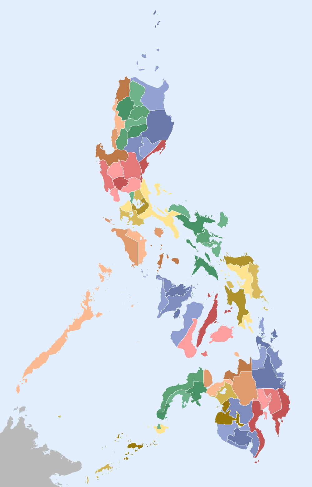 Philippines Regions And Provinces • Mapsof.net