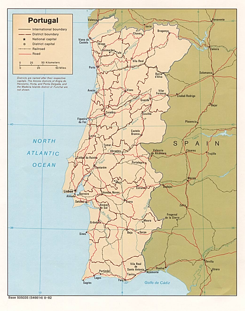 Where Is Portugal Portuguese Republic Maps Mapsofnet - Portugal norte map