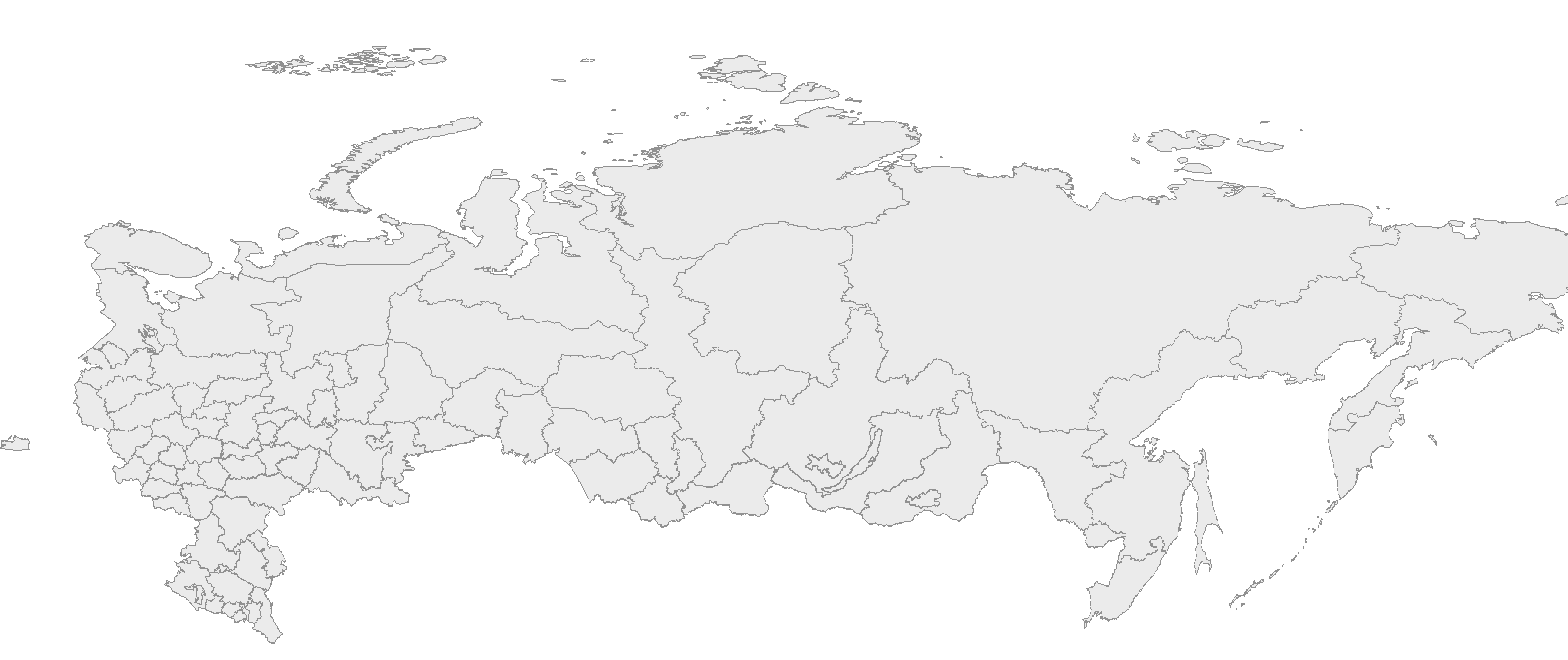 Russia Divisions large map