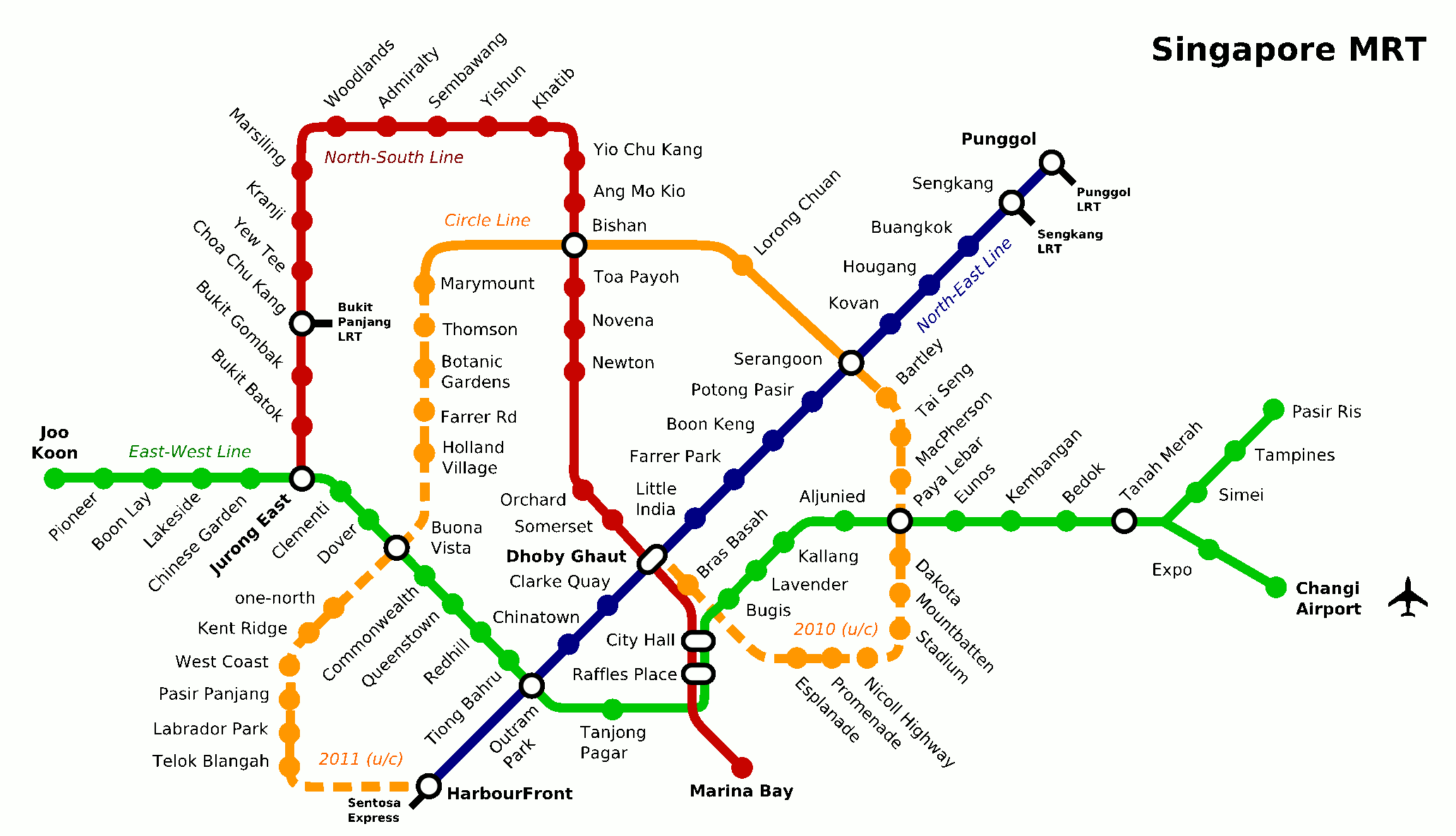 Singapore Subway Map My Blog - Washington dc transit map pdf