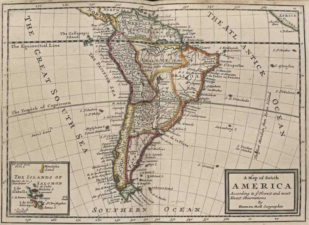 South America Historical Map political Mapsofnet
