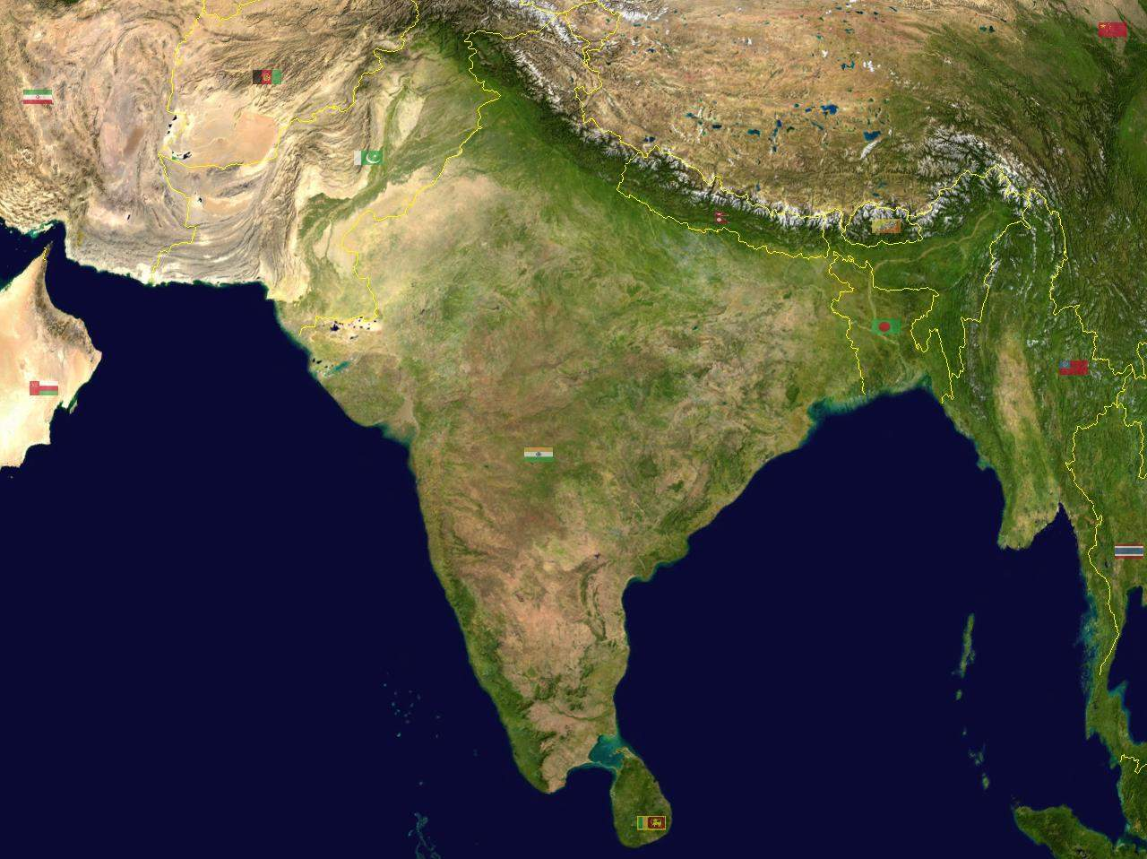 map of india satellite view South Asia Satellite Mapsof Net map of india satellite view
