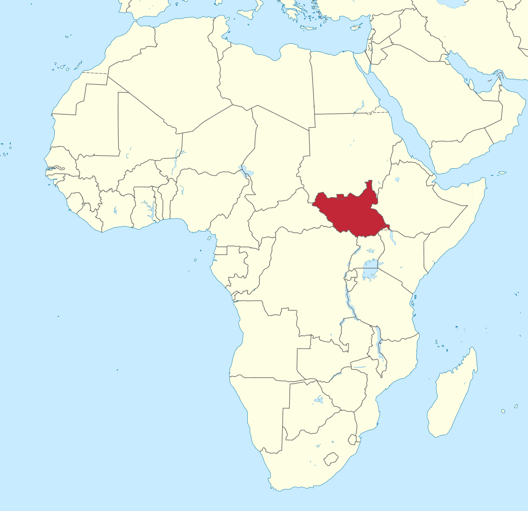 South Sudan In Africa • Mapsof.net