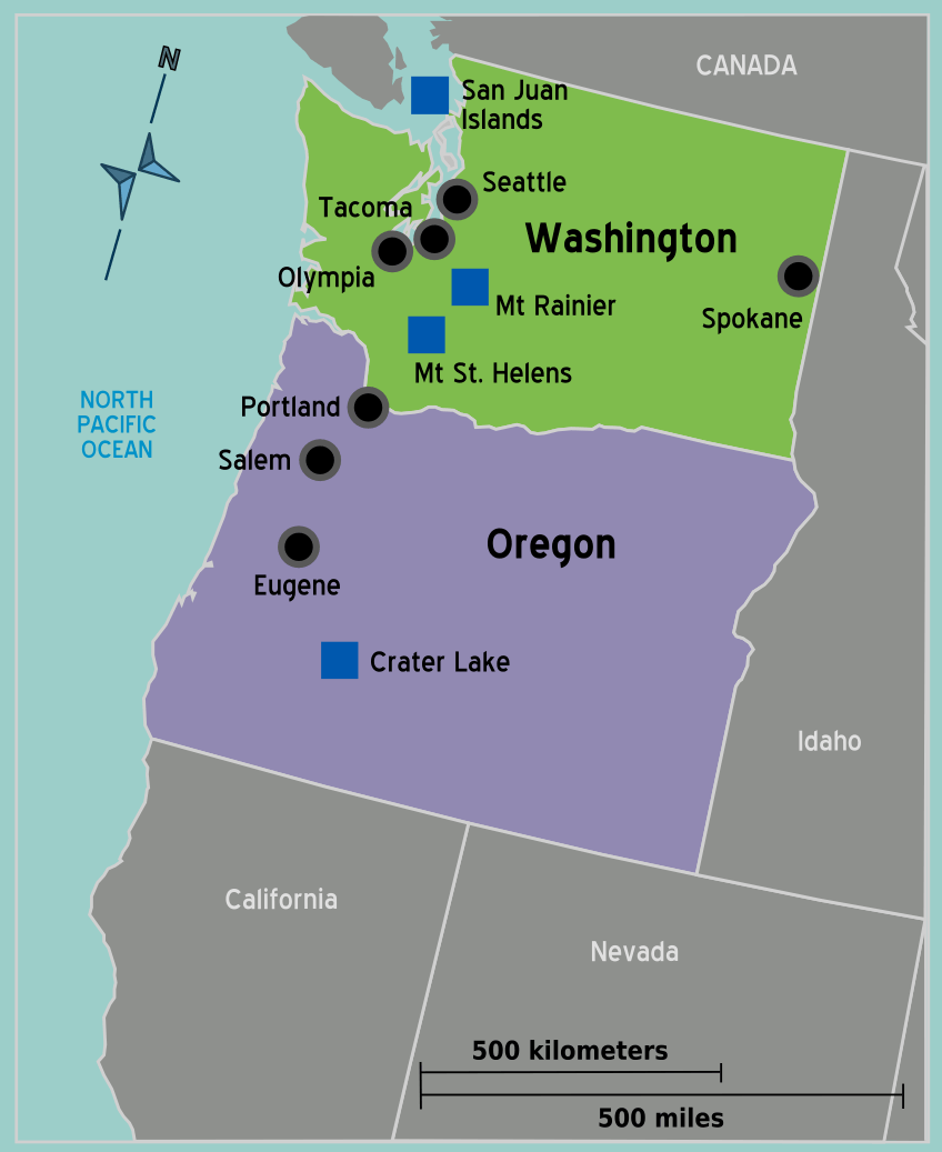 USA Pacific Northwest map.png