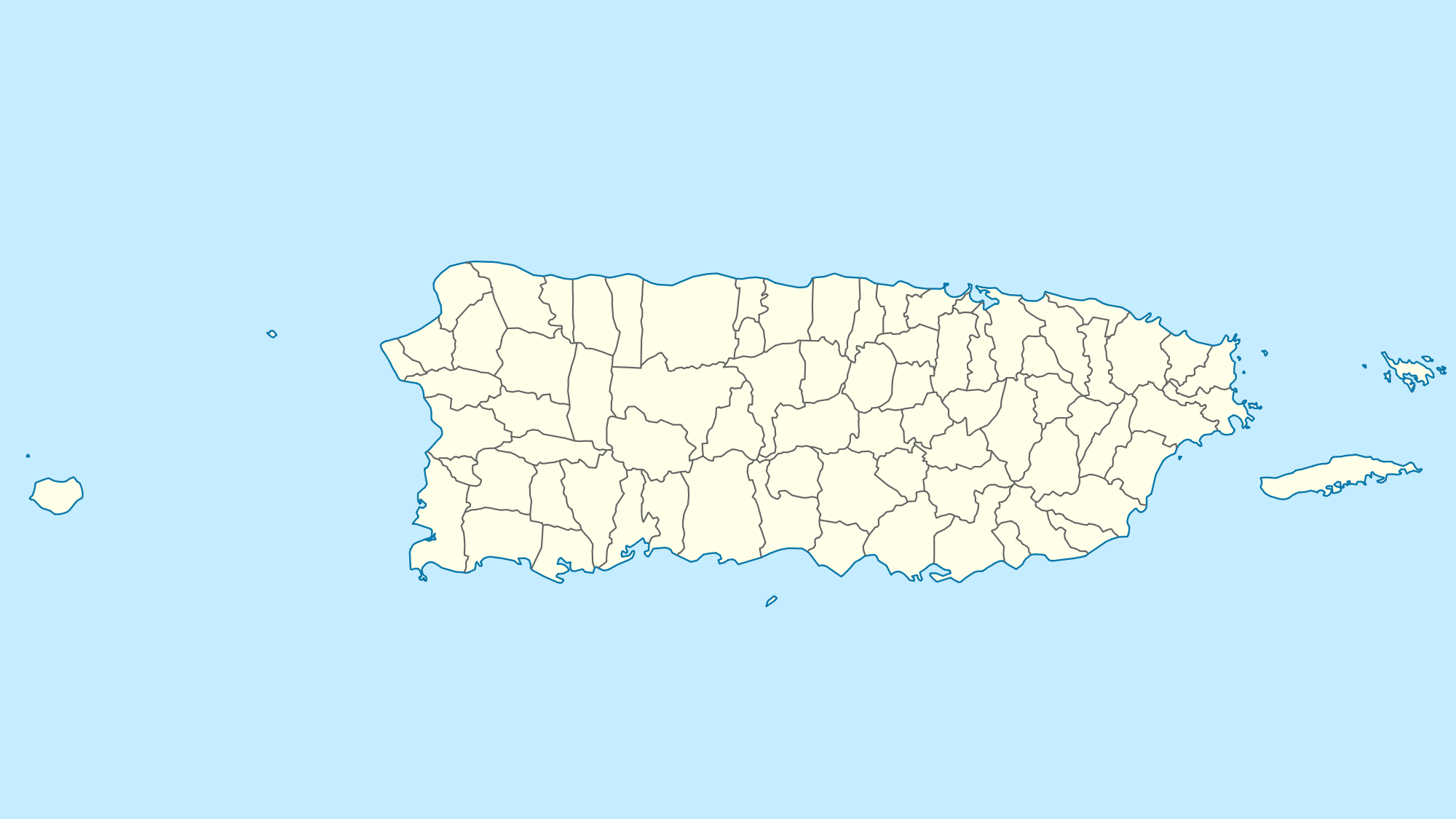 Usa Puerto Rico Location Map large map