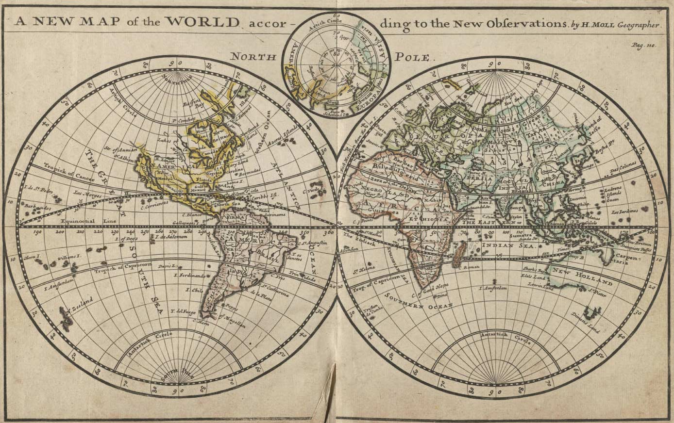 World historical map the world maps