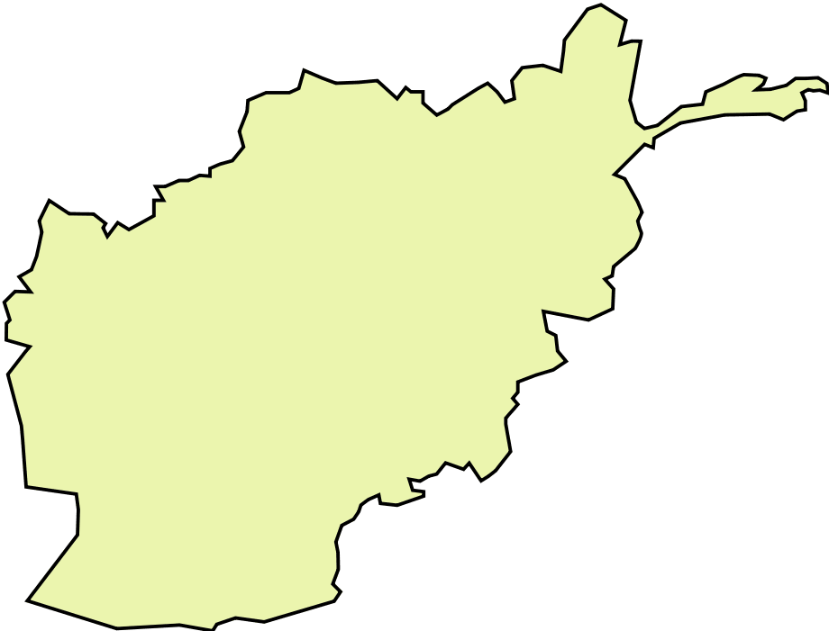 afghanistan map png