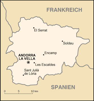 Andorra large map