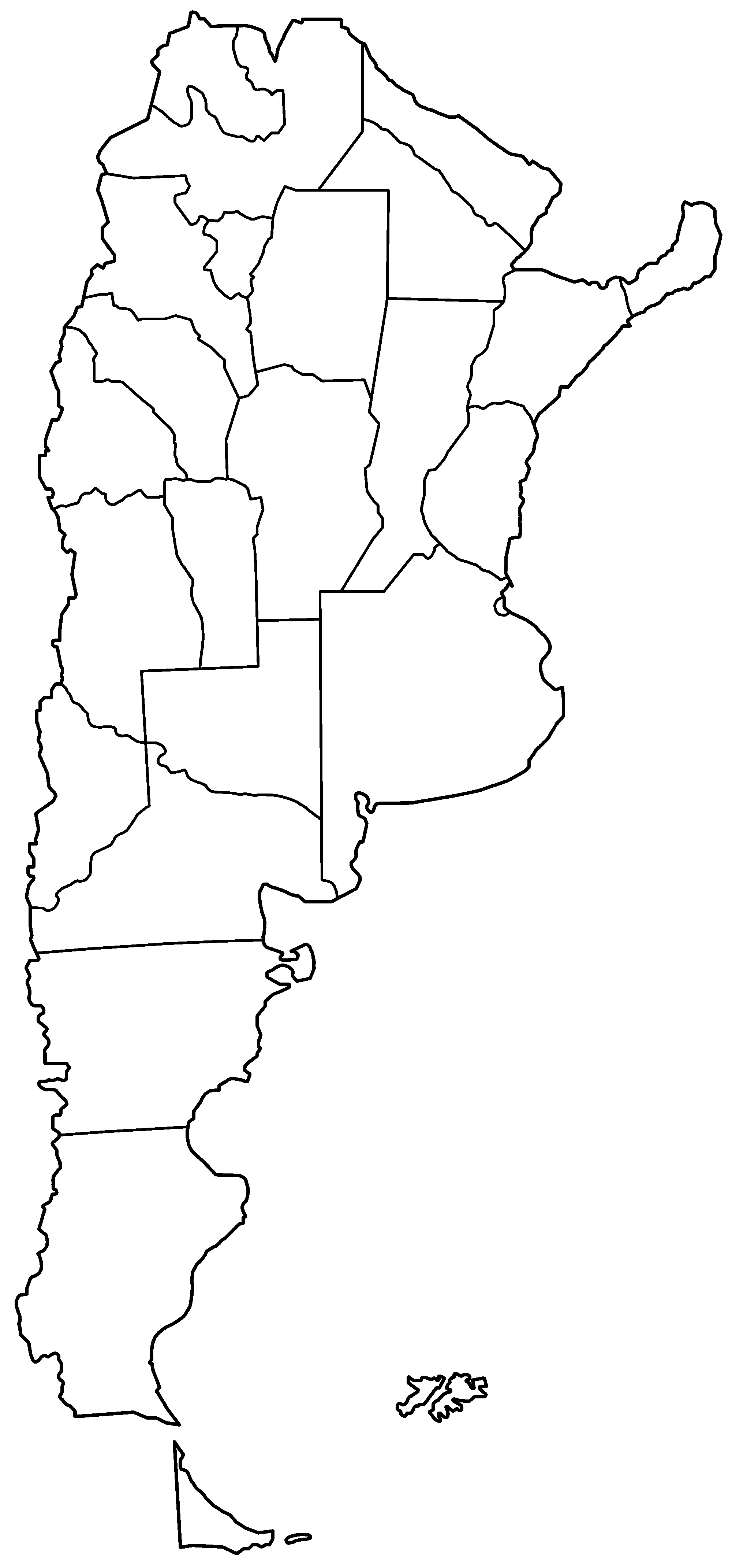 Image Result For Argentina Map