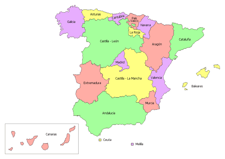 ... Communities of Spain 01 ...