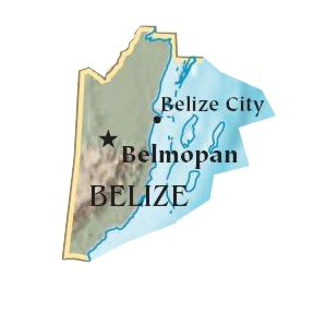 Belice large map