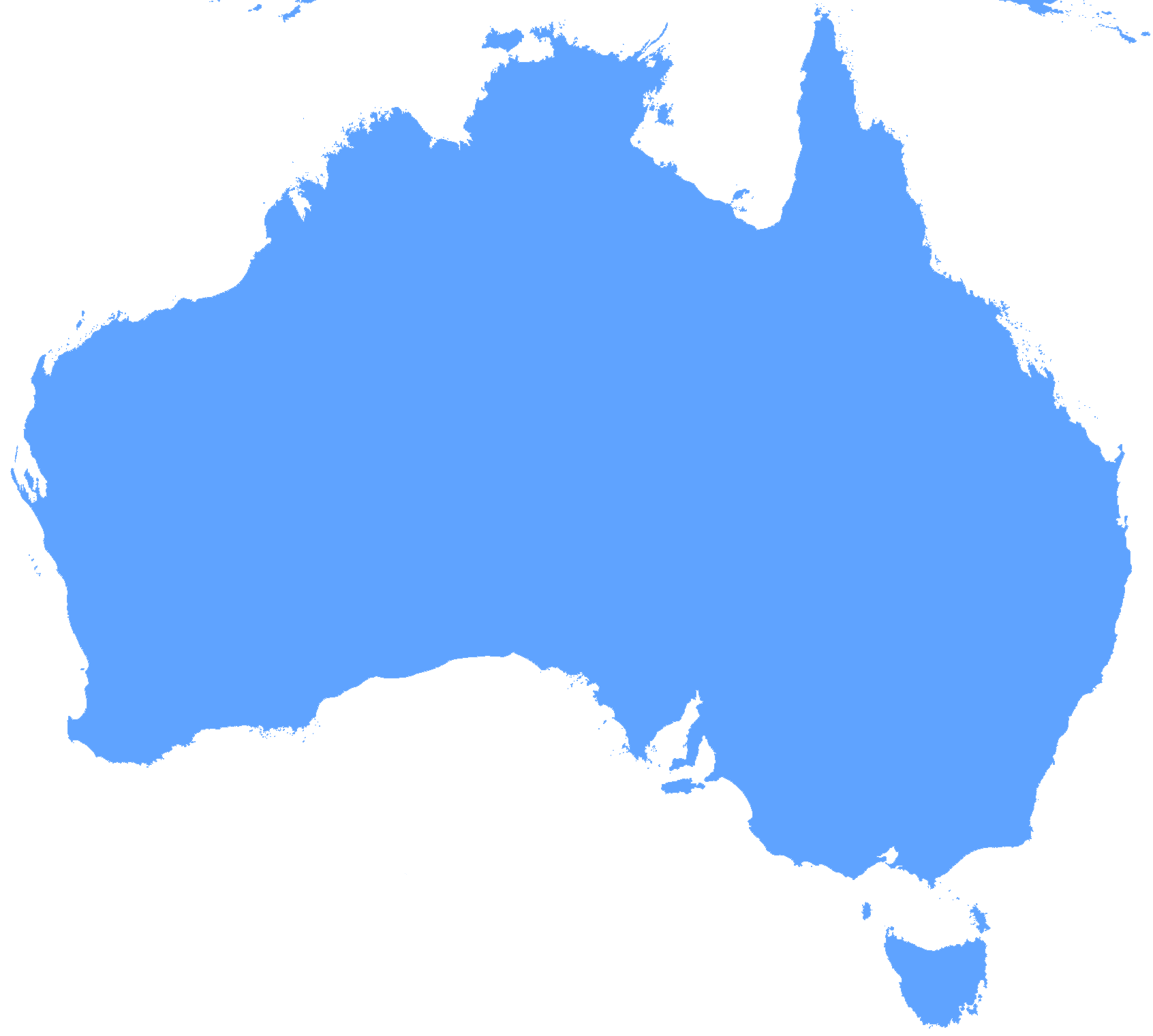 blank map of australia australia maps