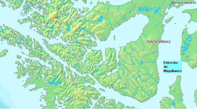 Brunswick Peninsula large map