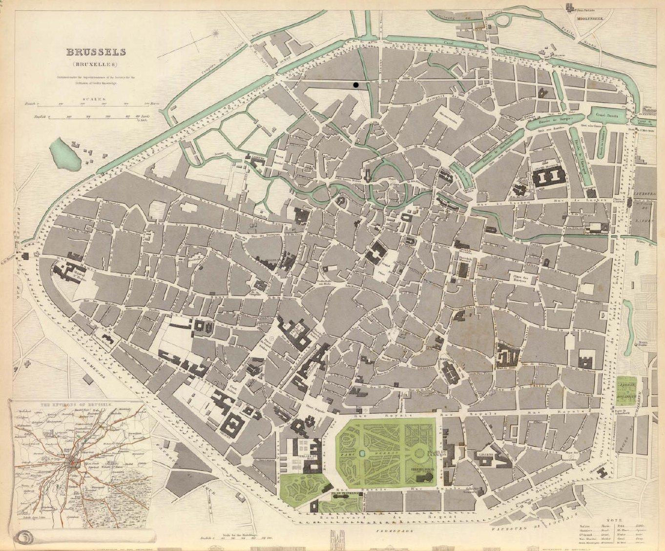 Brussels 1837 Jpeg large map