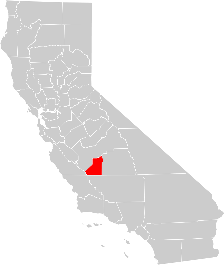 Kings County California Map.California County Map Kings County Highlighted Mapsof Net