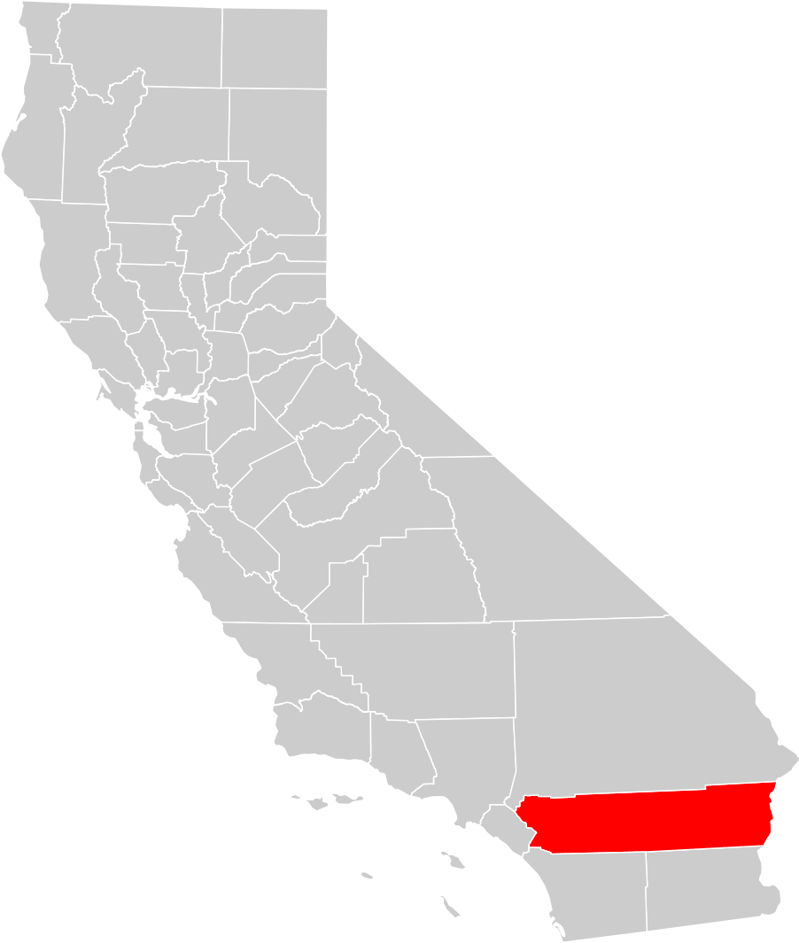 California County Map (riverside County Highlighted) • Mapsof.net