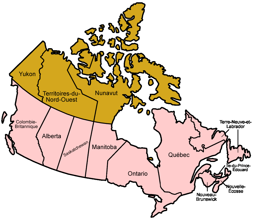 canada provinces french canada maps
