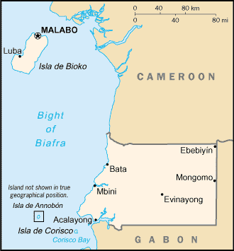 Carte Guinee large map