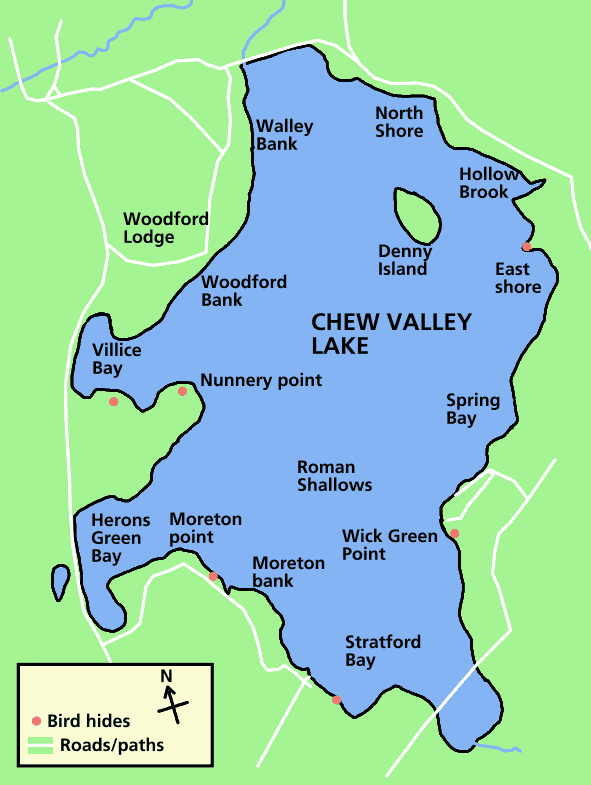 spring valley lake map Chew Valley Lake Map Mapsof Net spring valley lake map