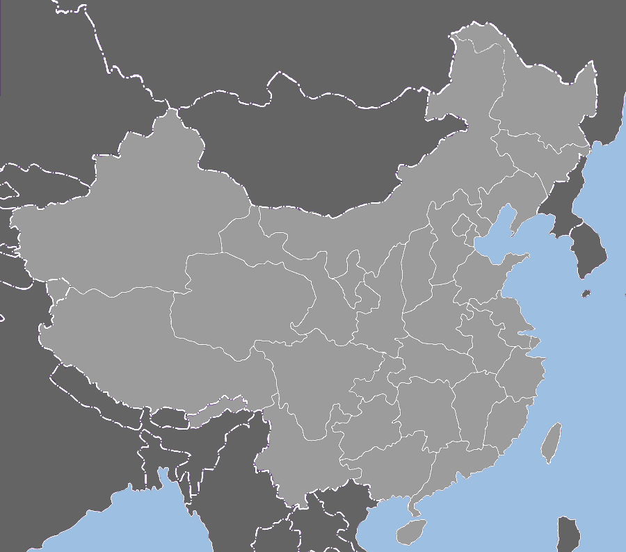 blank maps of spain. China Blank Map 1