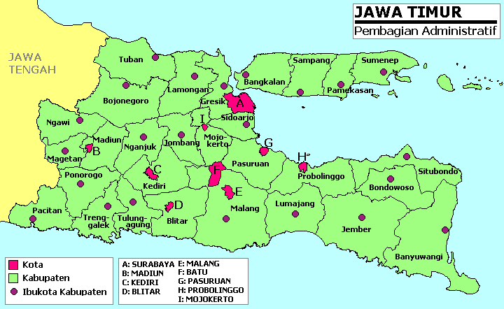 east java map