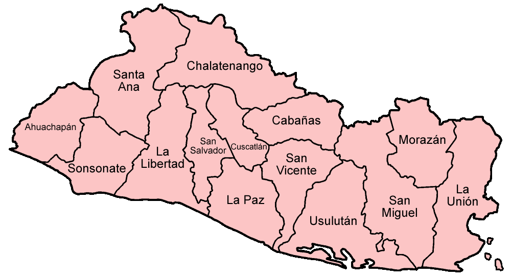maps of el salvador. El Salvador maps.