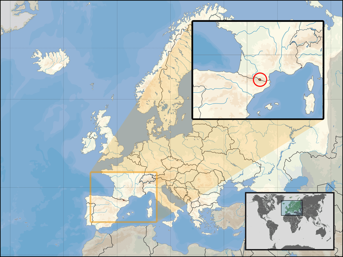 Europe Location Anr Mapsofnet