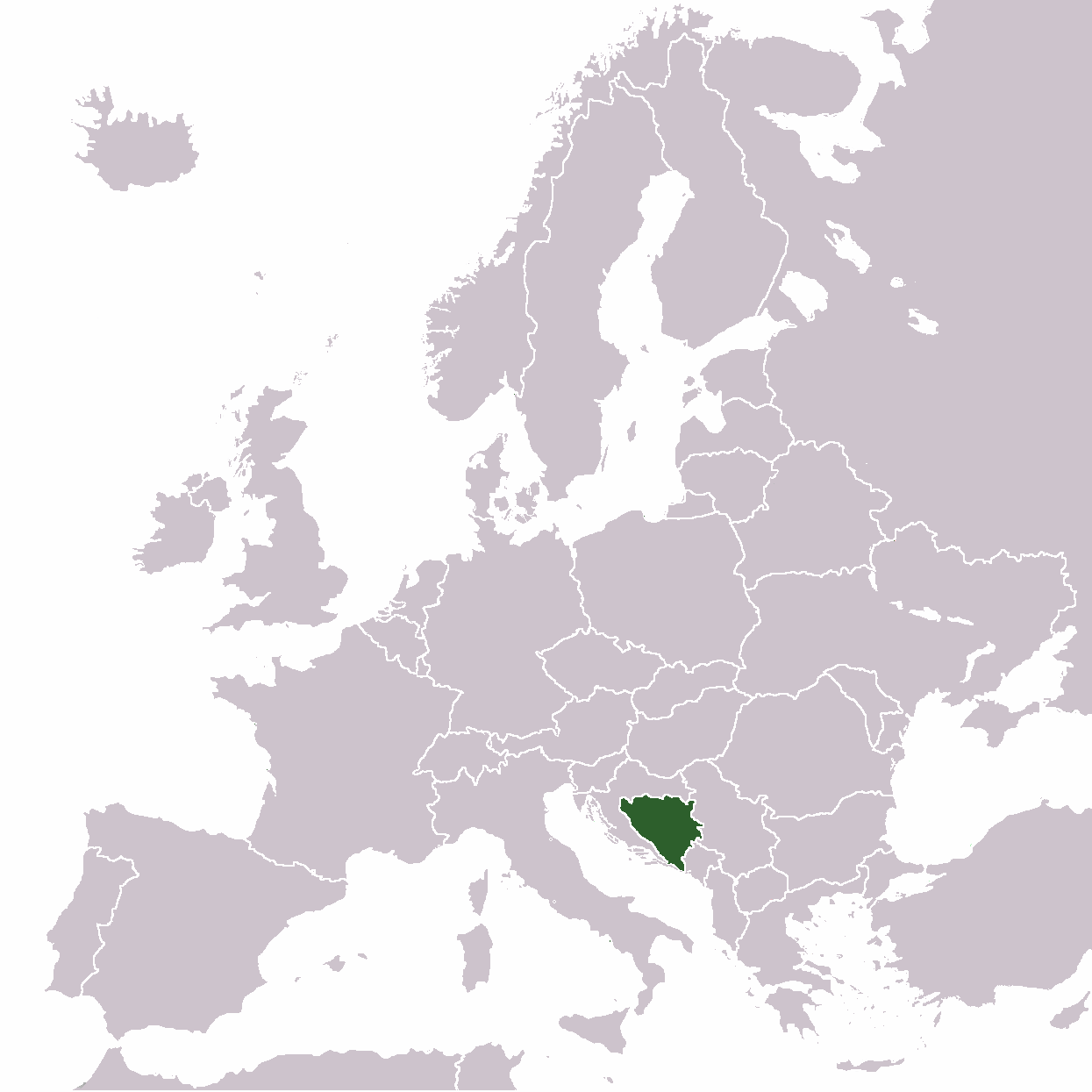 Europe Location Bh Mapsofnet