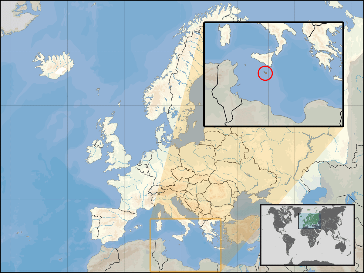 Europe Location Mlt large map