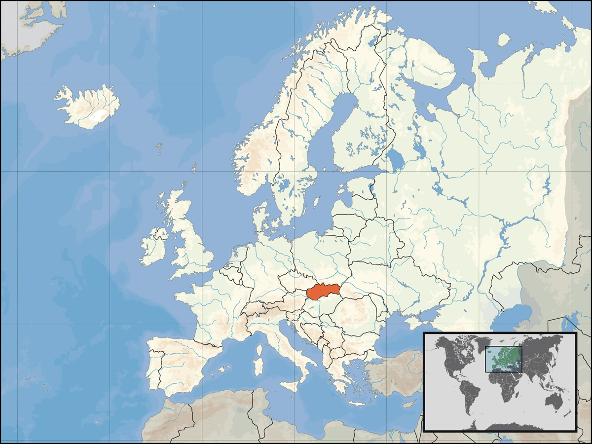 Europe Location Svk