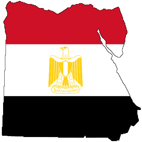 Egypt maps. Click on the Flag Map Of Egypt to view it full screen.