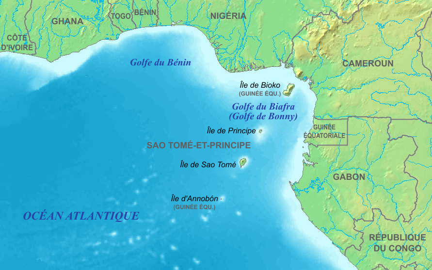 Gulf of Guinea Fr 3 large map