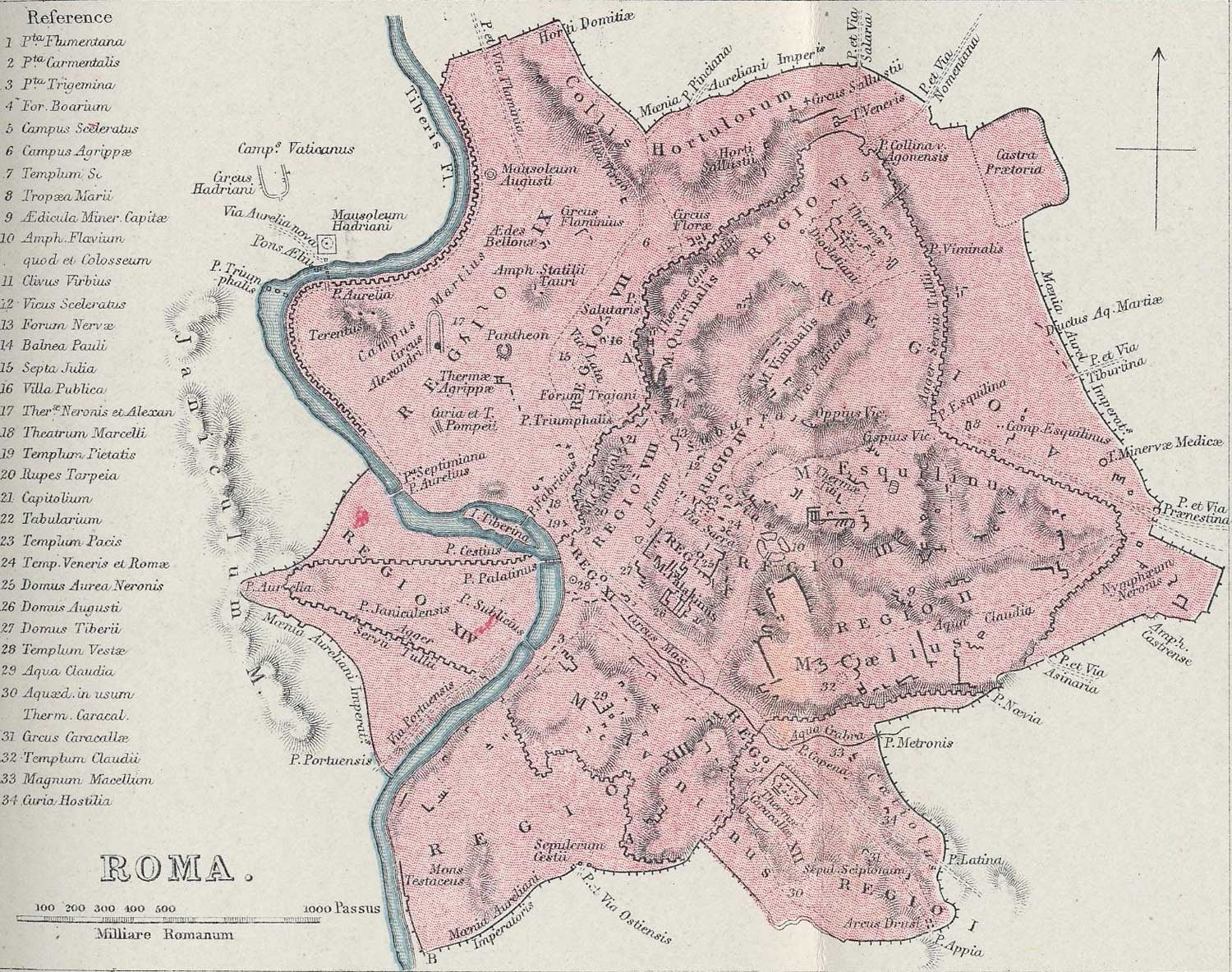 Historical Map Rome City