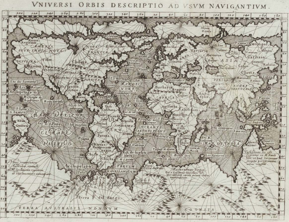Historical Map World (1800) • Mapsof.net