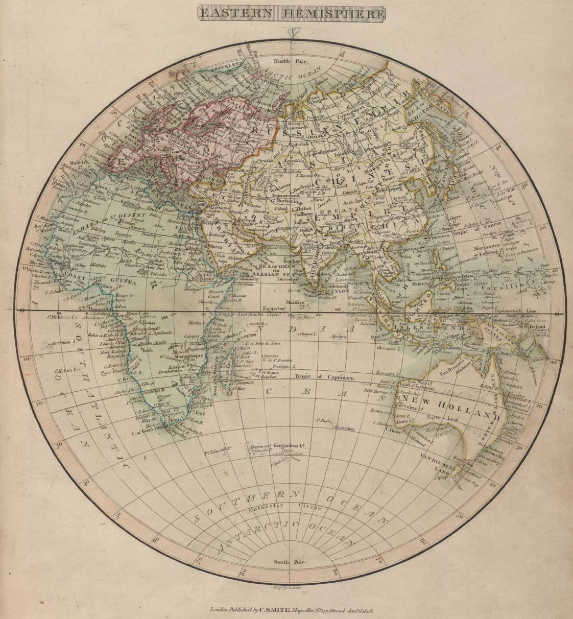 Historical map world 1808 mapsof click on the historical map world 1808 gumiabroncs Choice Image
