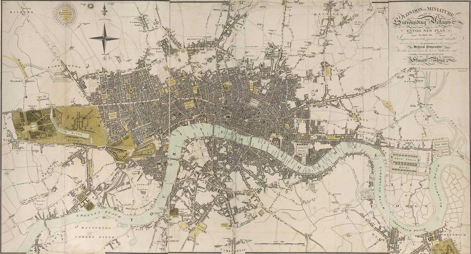 Historical Map Of London Mapsofnet - London map historical