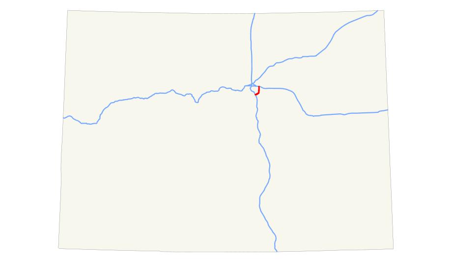 I 225 (co) Map large map